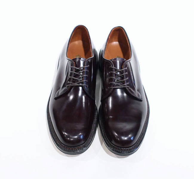 Alden Cordovan Plain Toe Blucher Oxford 990 Loftman