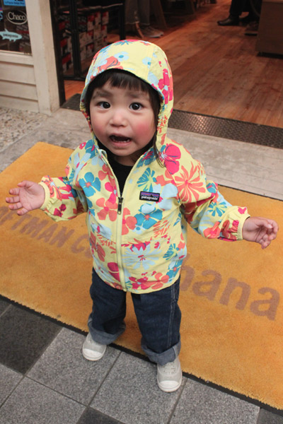 Babyのナイロンジャケット Loftman